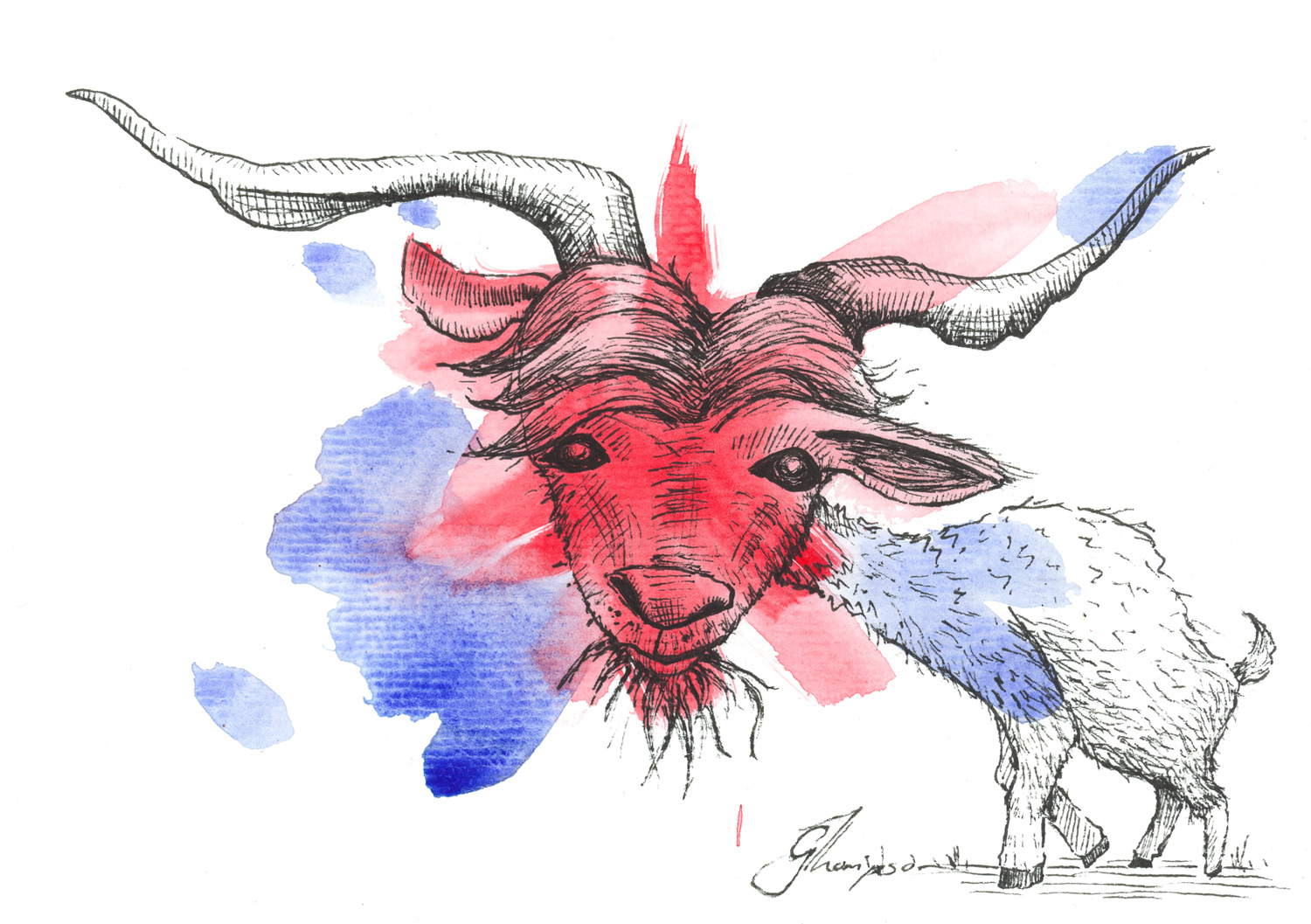 Billy the Goat - SOLD
