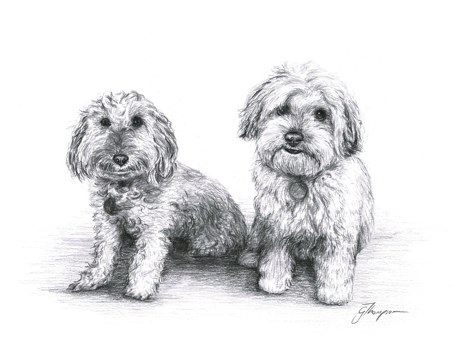 Troy and Bailey - SOLD