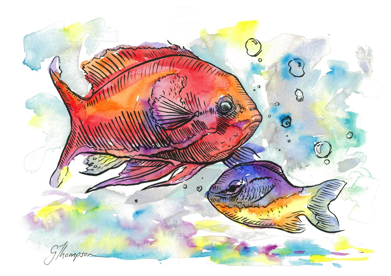 Kelsey's Aquarium 2 - SOLD