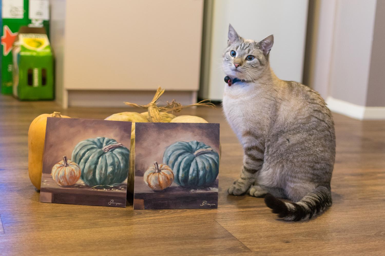 Bentley is very proud of his work!