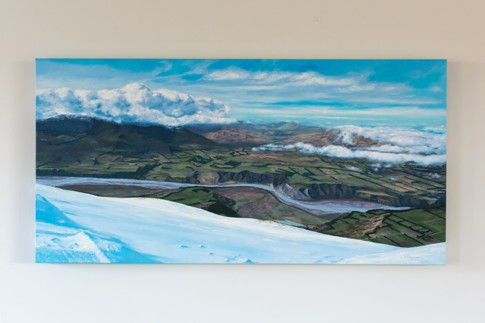 Journey to Sunlight' - Oil on Canvas 900mm x 450mm
