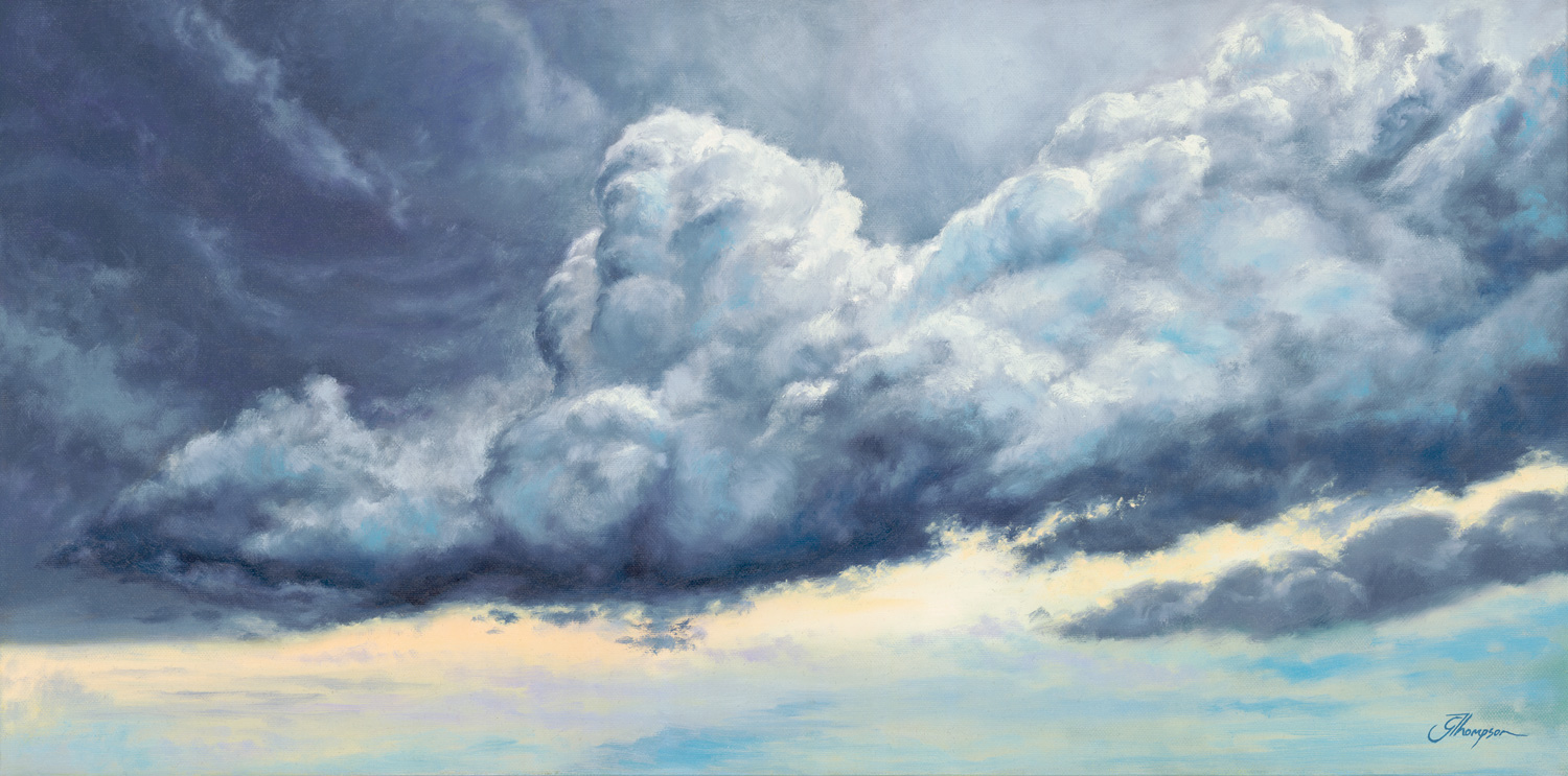 Moody Clouds - SOLD