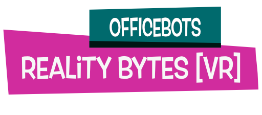 OfficeBots: Reality Bytes - is a little game with a big heart. Explore a wonderfully weird corporate office, listen to your robotic co-workers' stories, and help to solve their problems. Ultimately your goal is to find a way to escape, but your journey to freedom will give you many opportunities to brighten up the lives of others.Check out the online press kit if you'd like to know more.