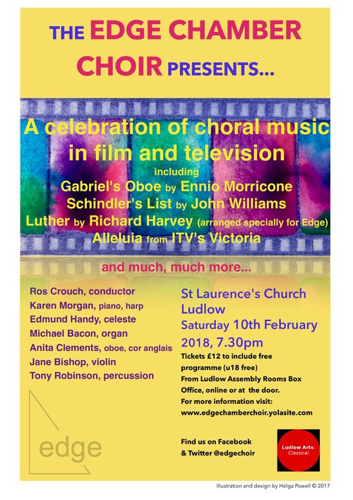 Edge Chamber Choir - A Celebration of Choral Music in Film and