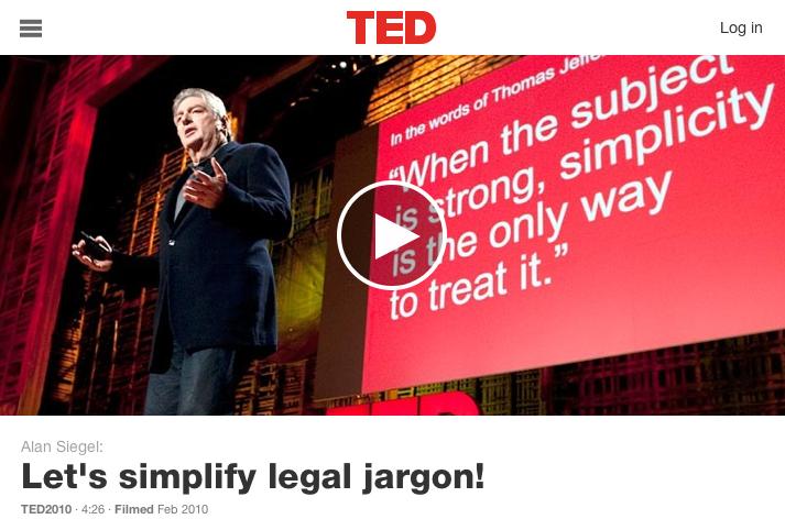 Alan Siegel speech on Ted.com 2010
