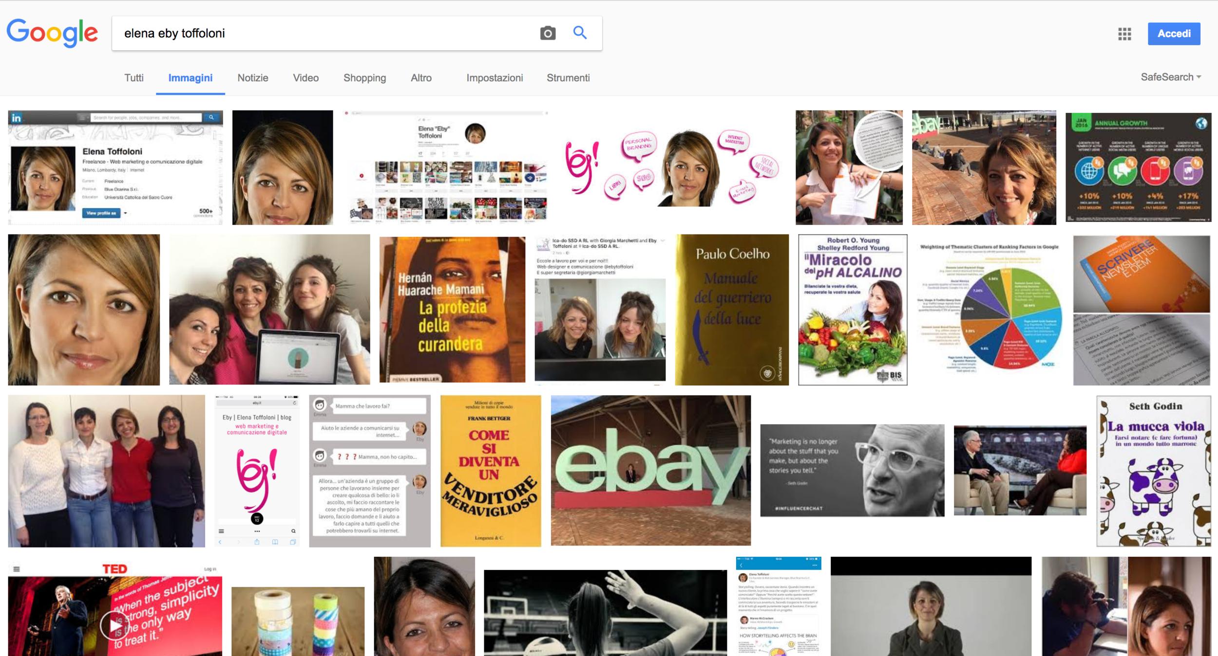Rinomina le immagini e ogni tanto guarda su Google immagini