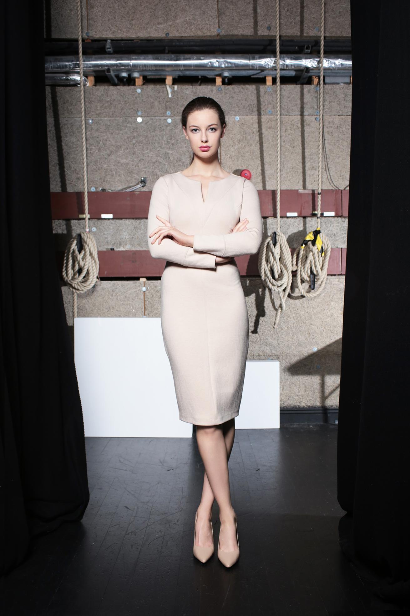 Johansson Dress Nude