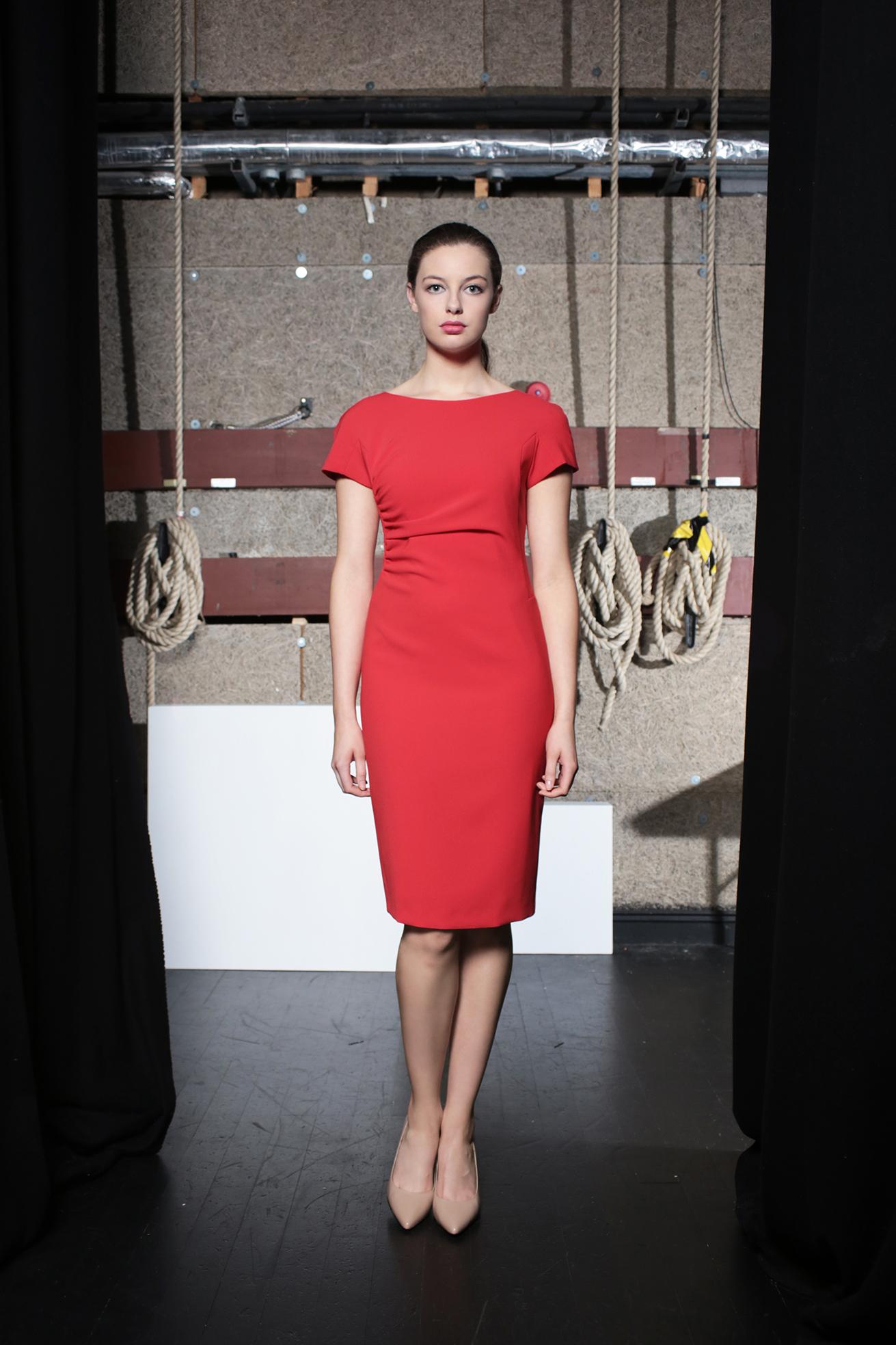 Ziggy DressTomato Red