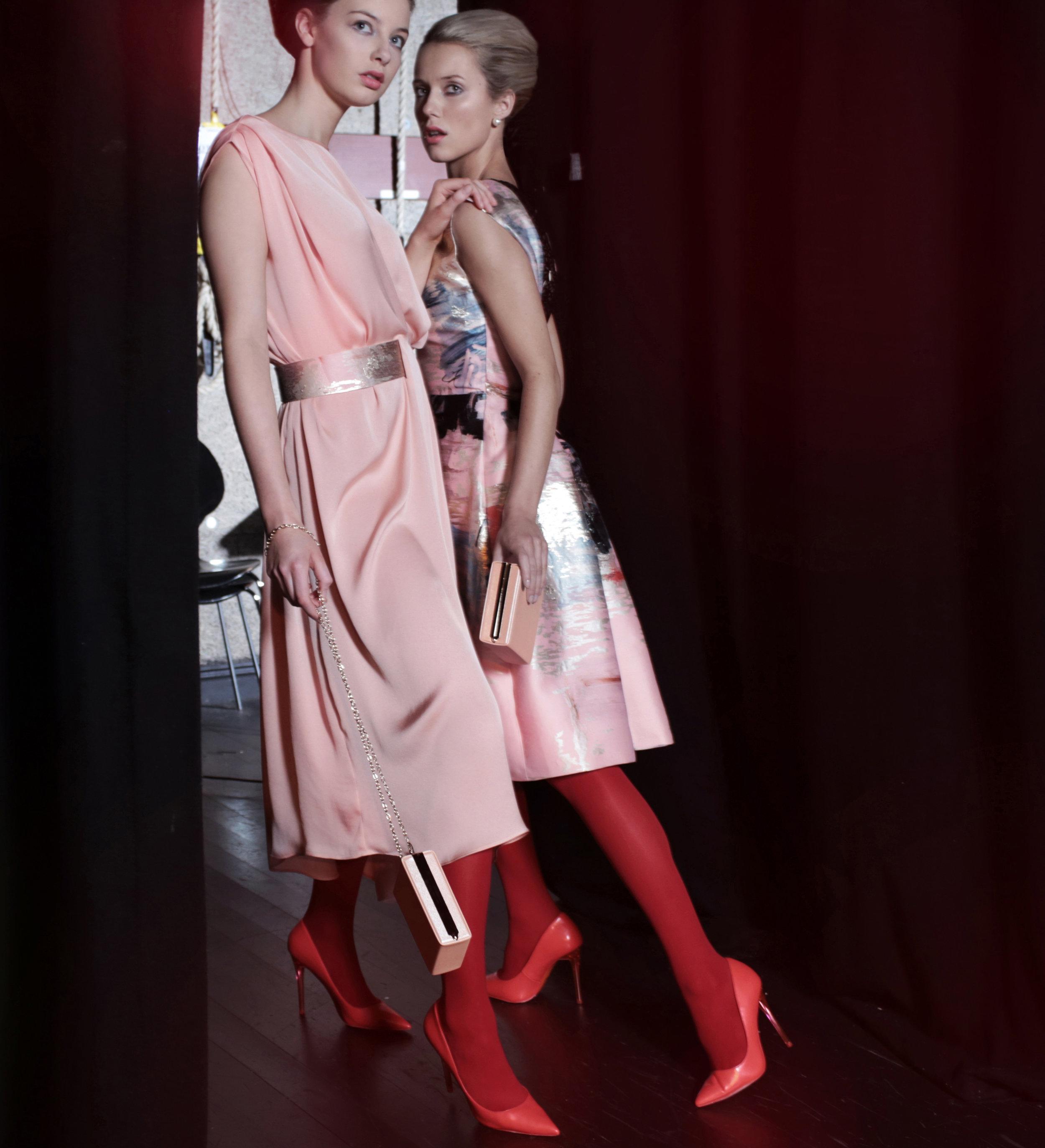 2. Scarlett blush dress & Twiggy abstract print dress.jpg