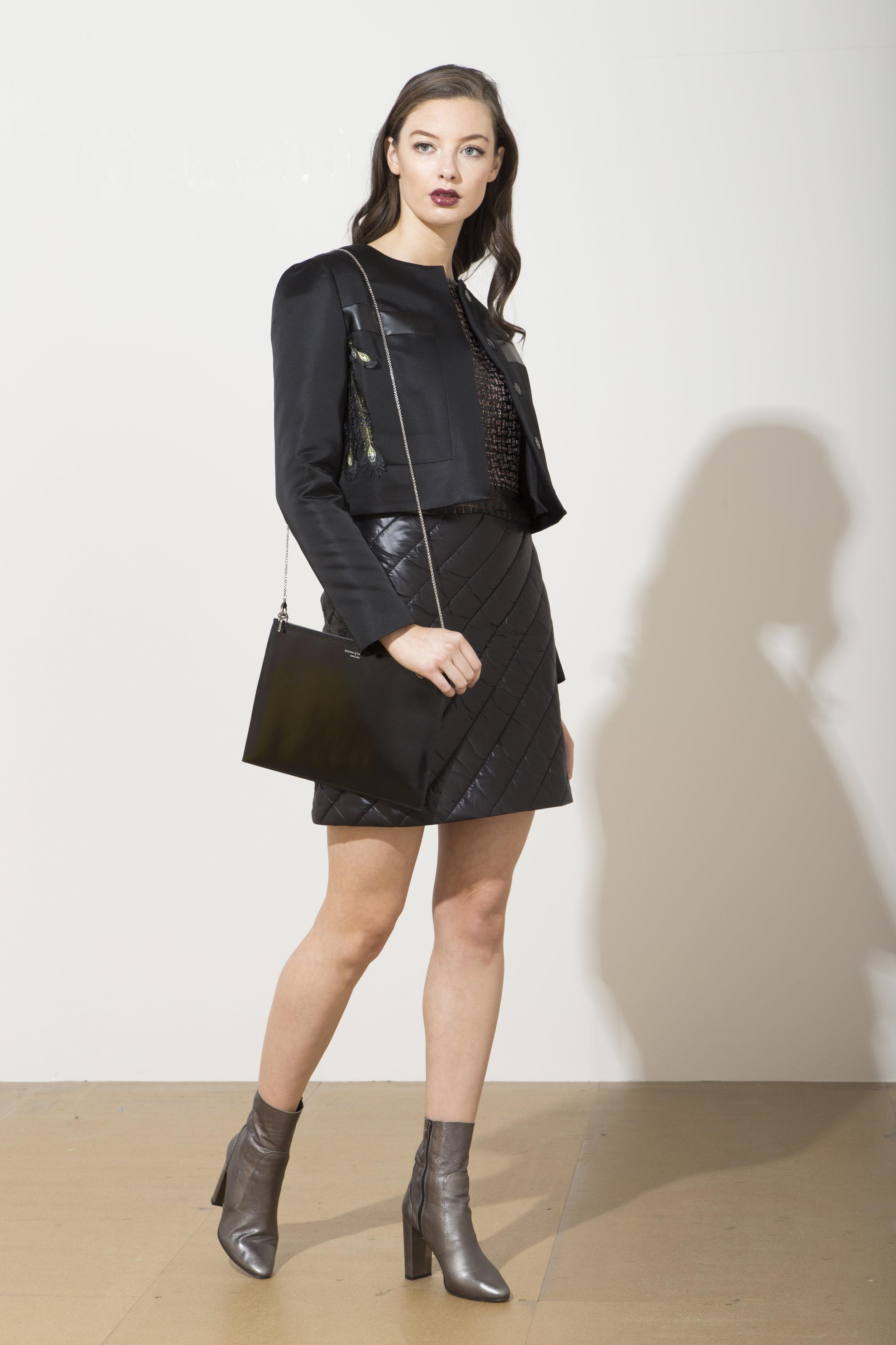 Bergman Jacket with Jiggy Skirt