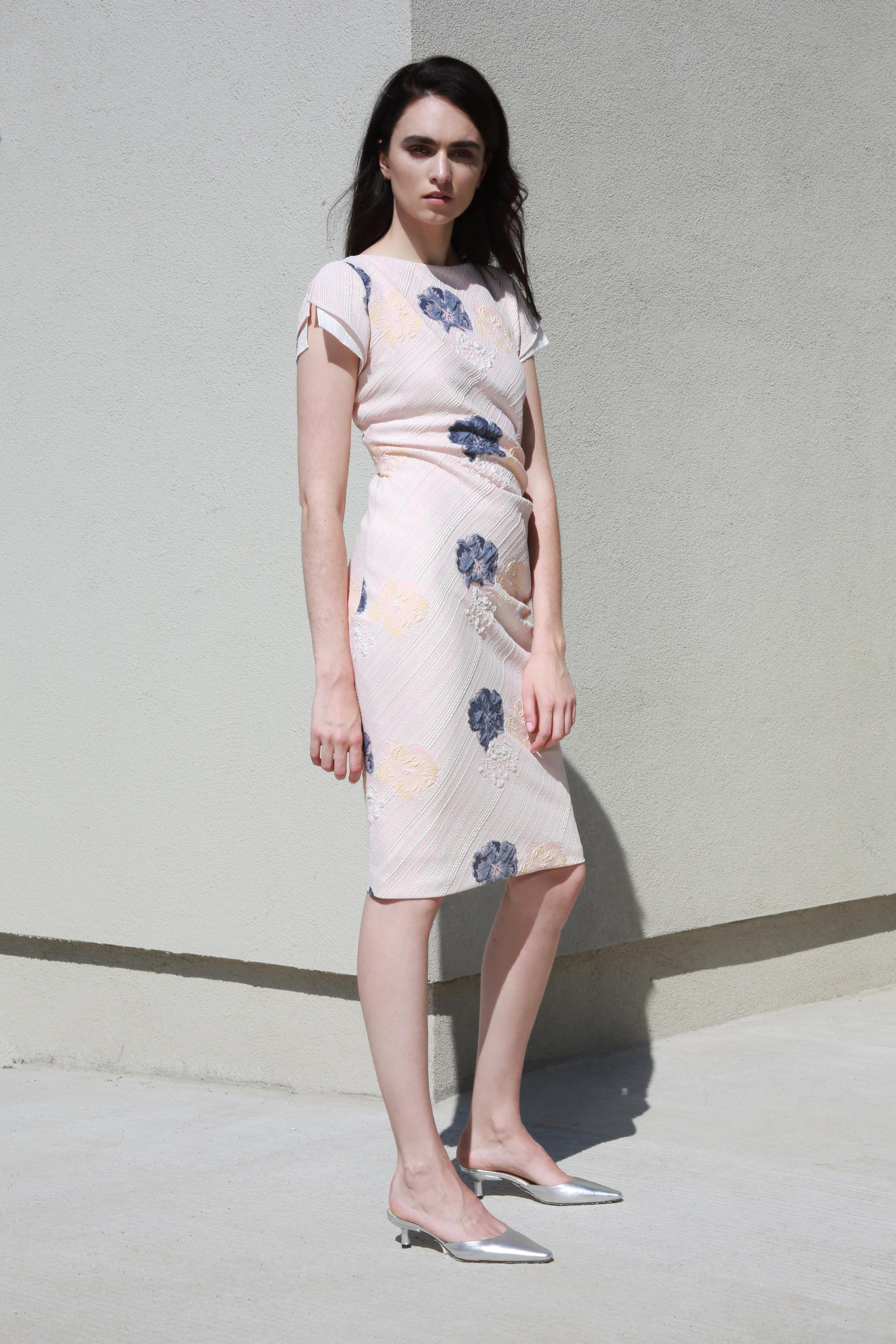 Harper dress in Pink Flower €256.00
