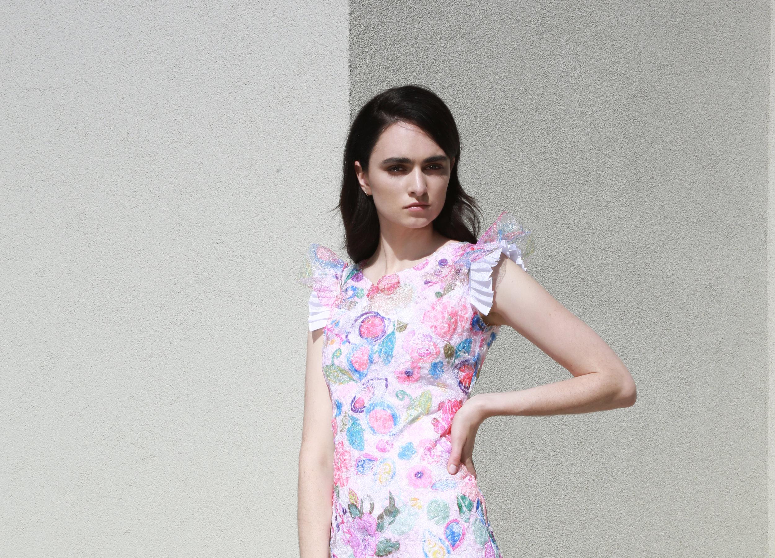 Courtney Dress in Poppy Lace €297.00