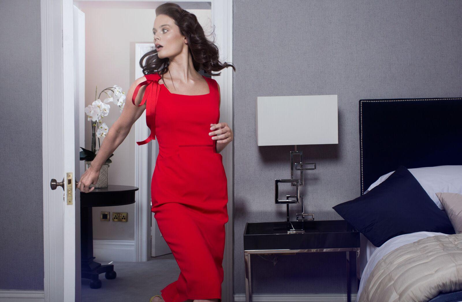 Grace Dress in Red €297.00