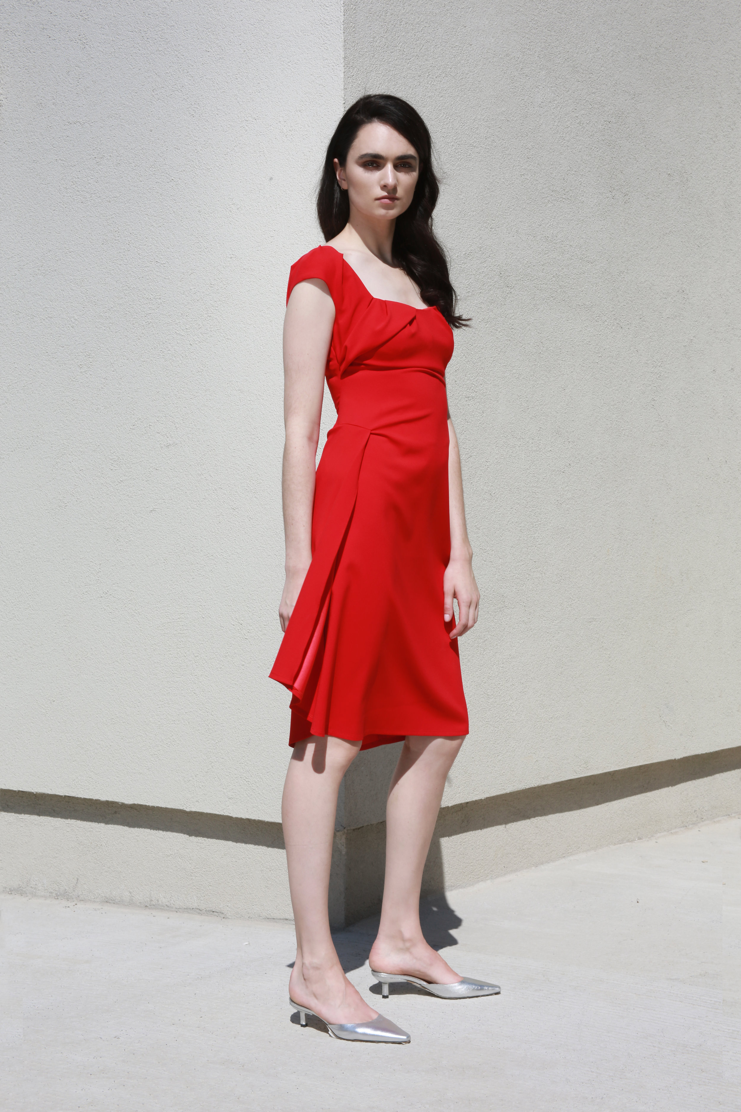 Lily Dress in Red €256.00