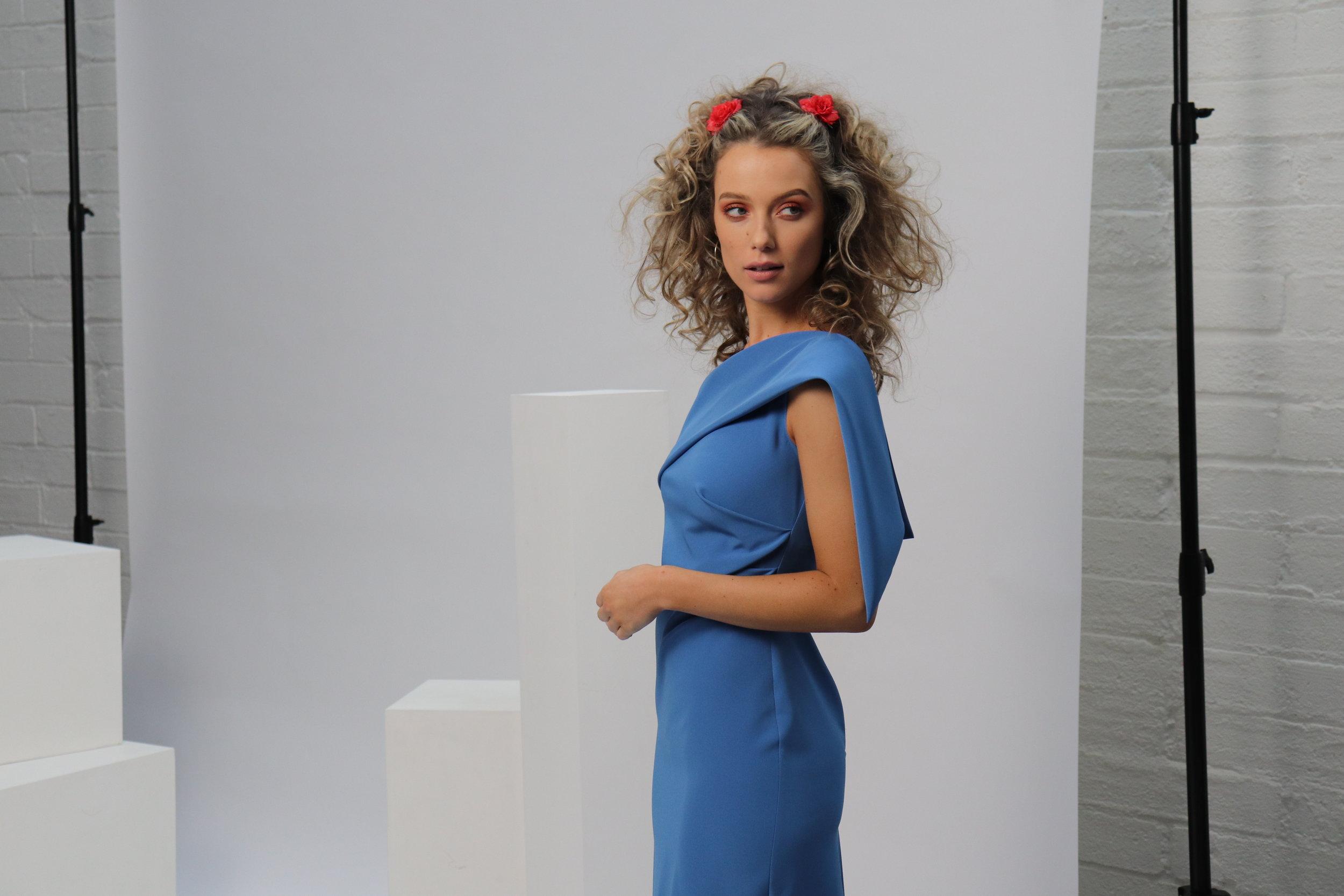 Eva in Blue SS19