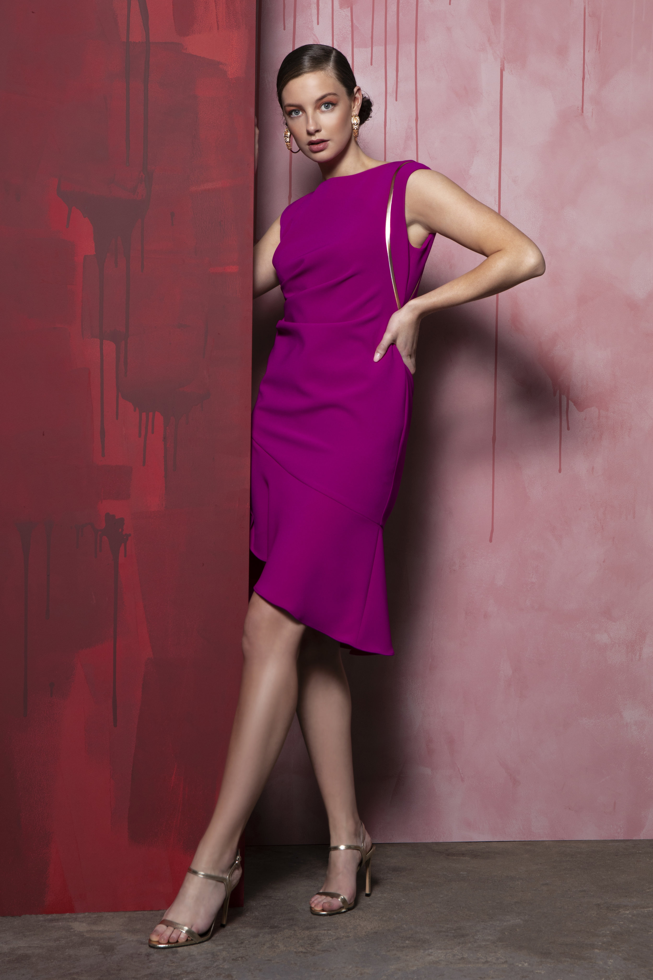Valarie dress Purple with gold detail €270 (1).jpg
