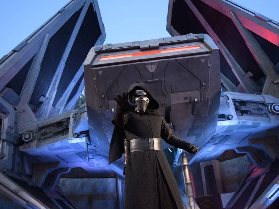 Rise of the Resistance, Star Wars, Galaxy's Edge, Keylo Ren, Opening December 5th, Disney's Hollywood Studios, Orlando, Florida