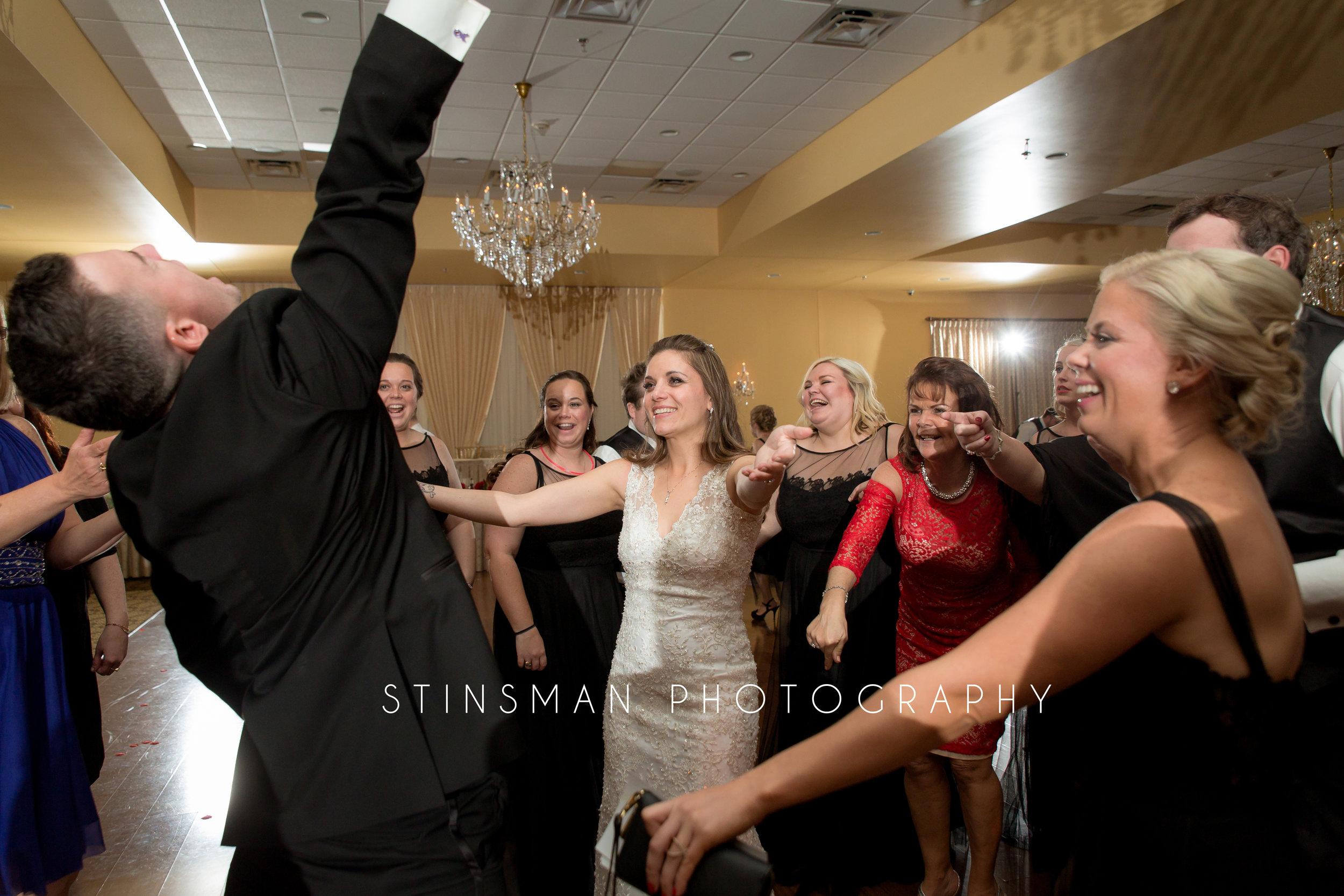 bride loves to dance