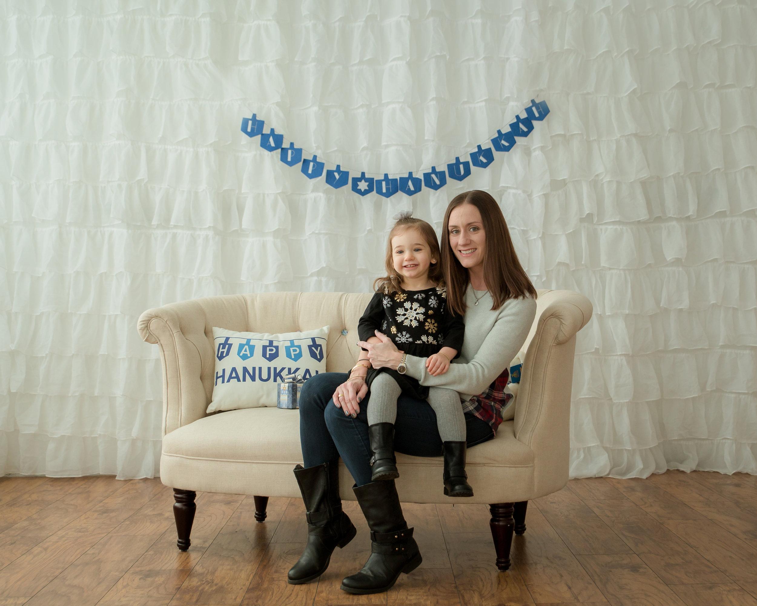 big smile for hanukkah
