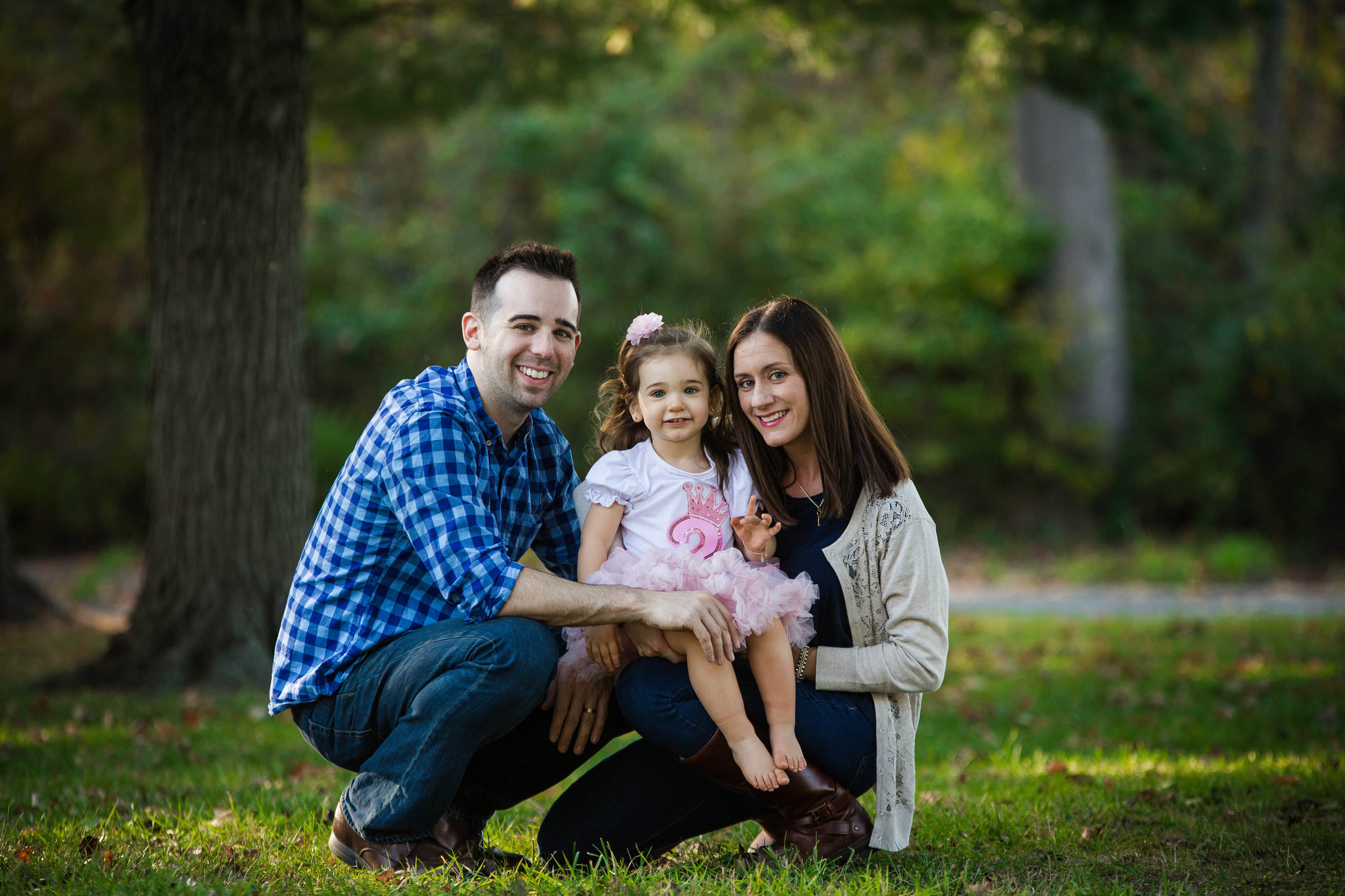 family with a daughter with autism at smithville mansion