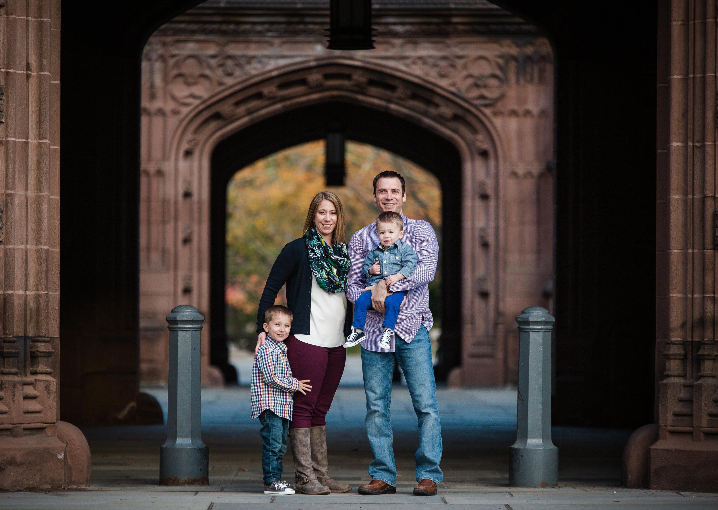 princeton university family session