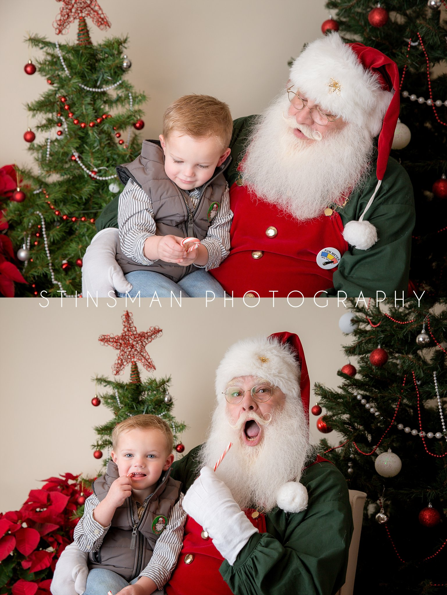 santa loves candy canes south jersey photographer