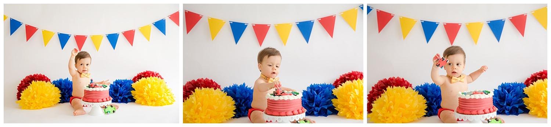 primary color cake smash in burlington new jersey