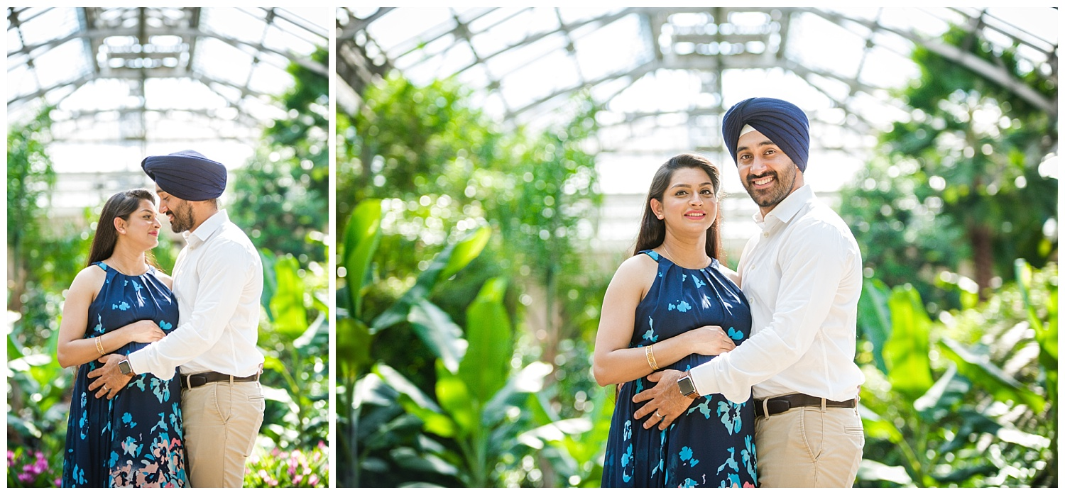 longwood gardens arboritum maternity photo shoot