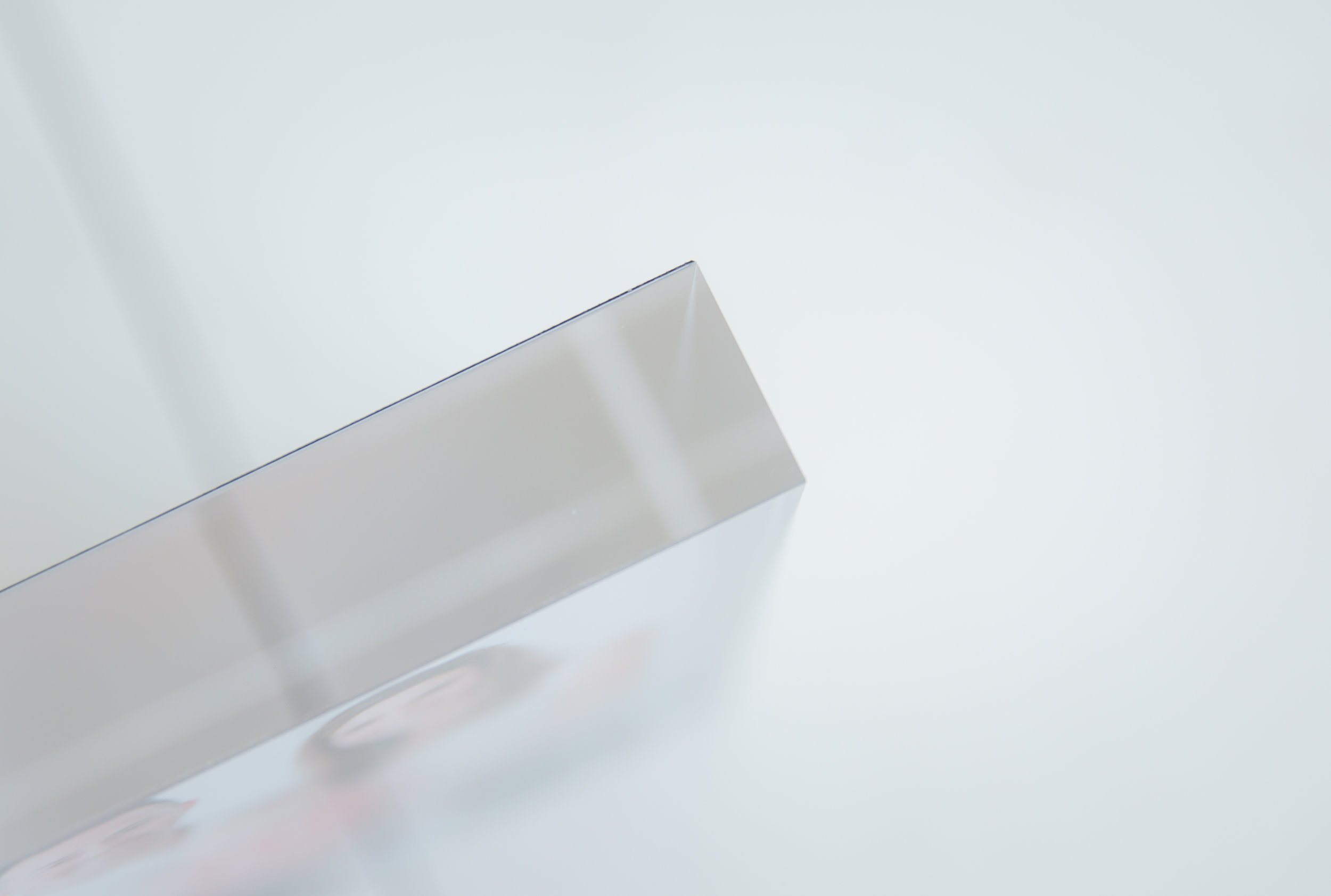 acrylic block size view the modern day frame