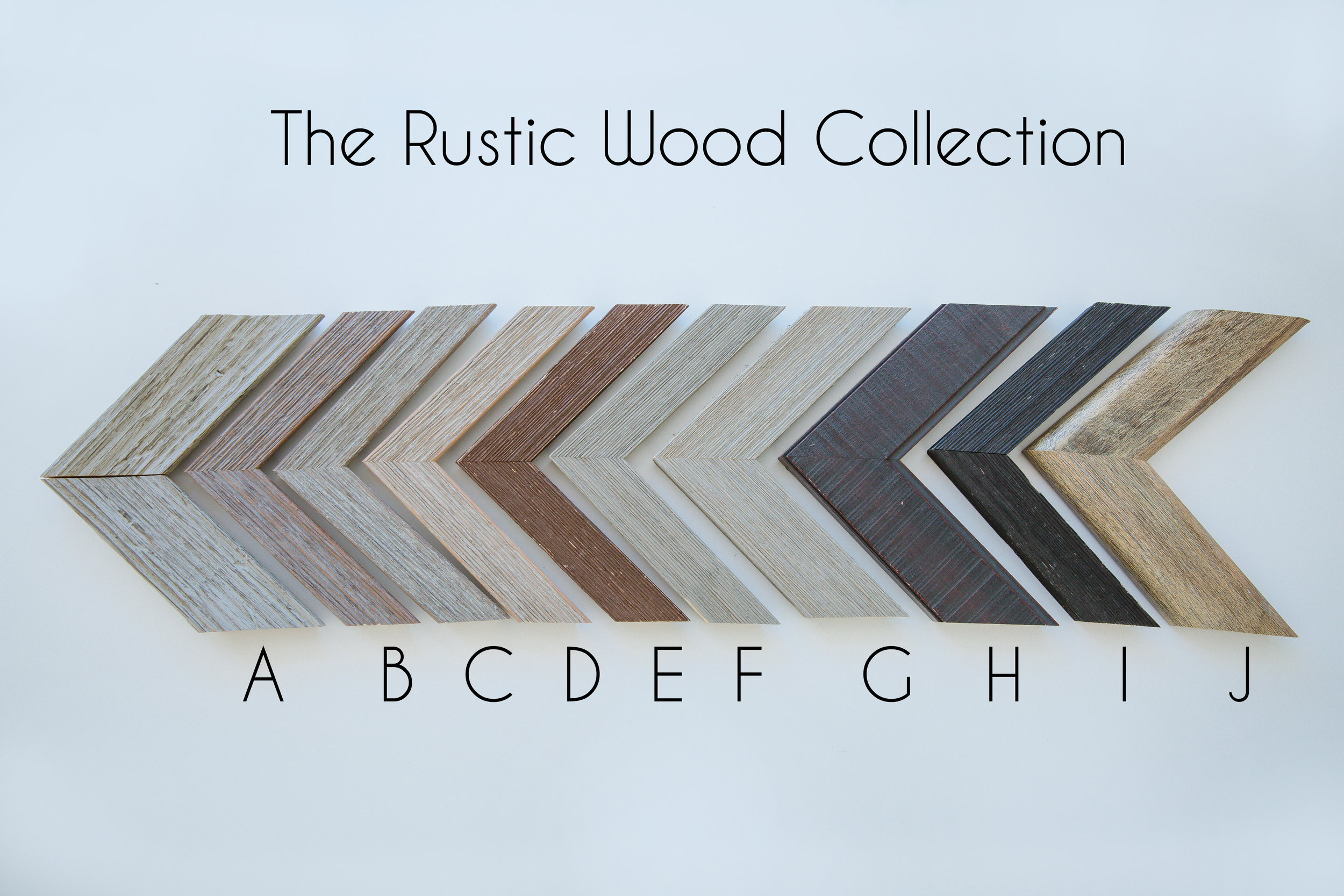 The rustic wood collection is very similar to Joanna Gaines and her shabby chic style.