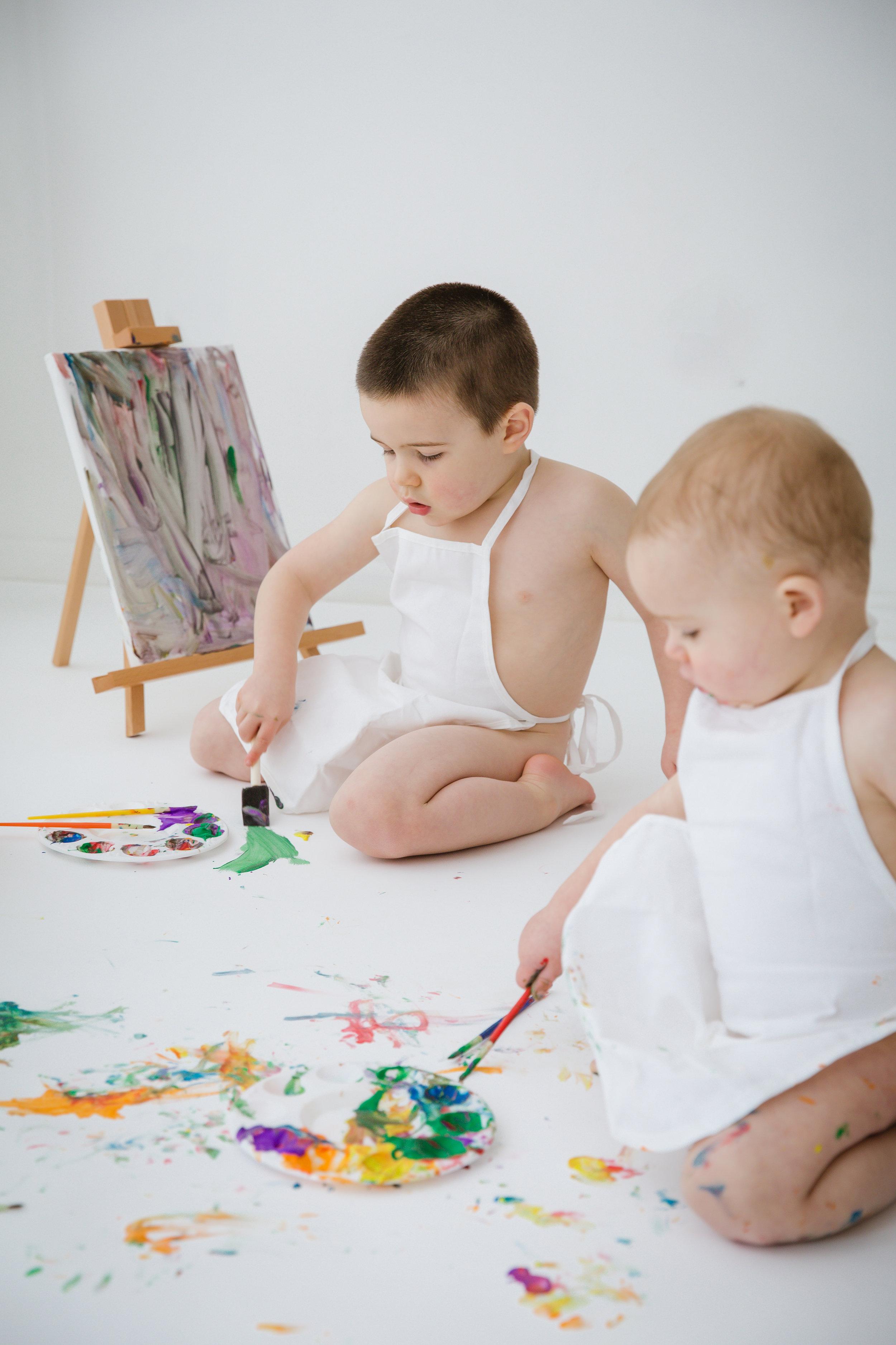 baby-boys-painting-in-burlington-new-jersey-photo-studio
