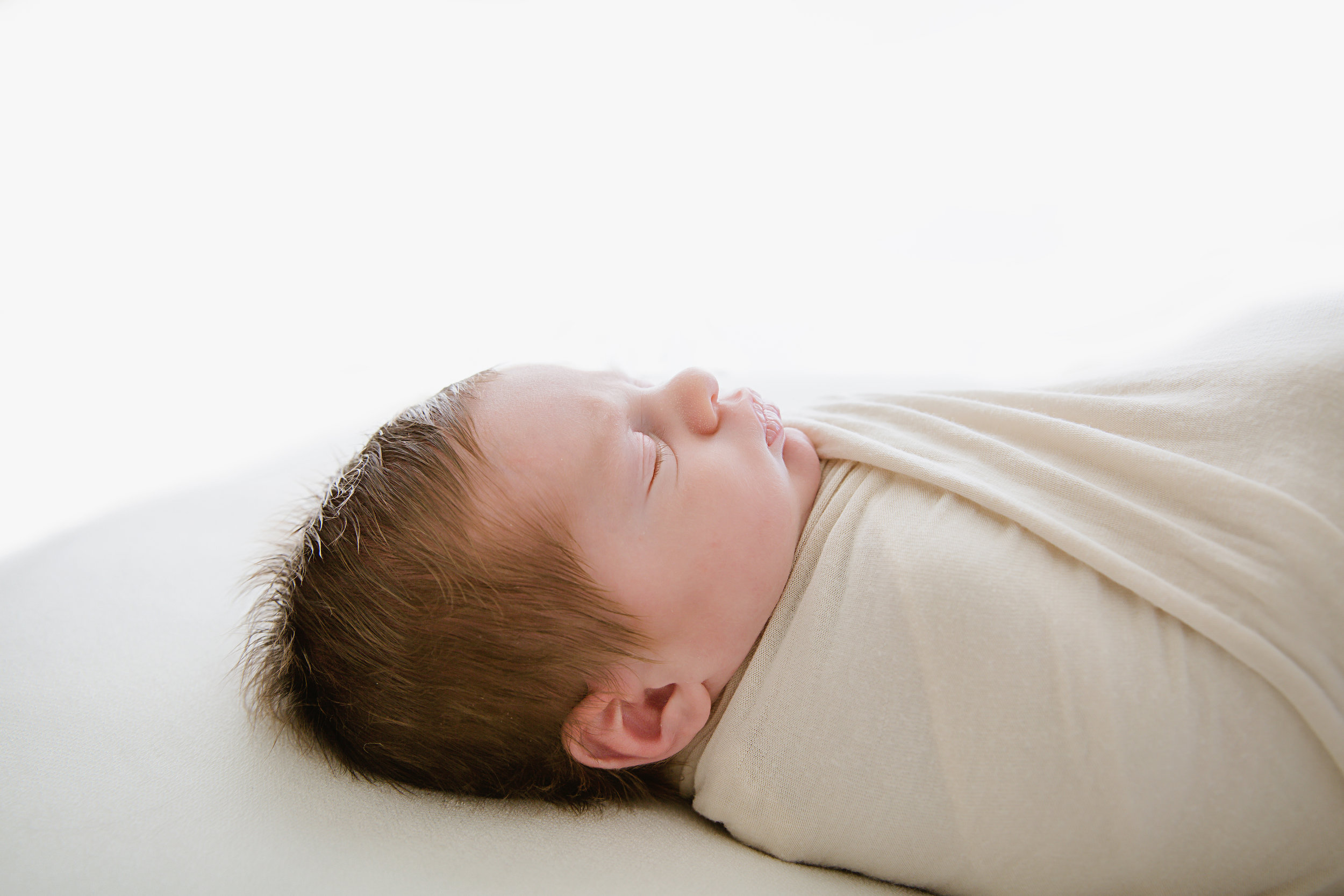 newborn baby boy profile photo