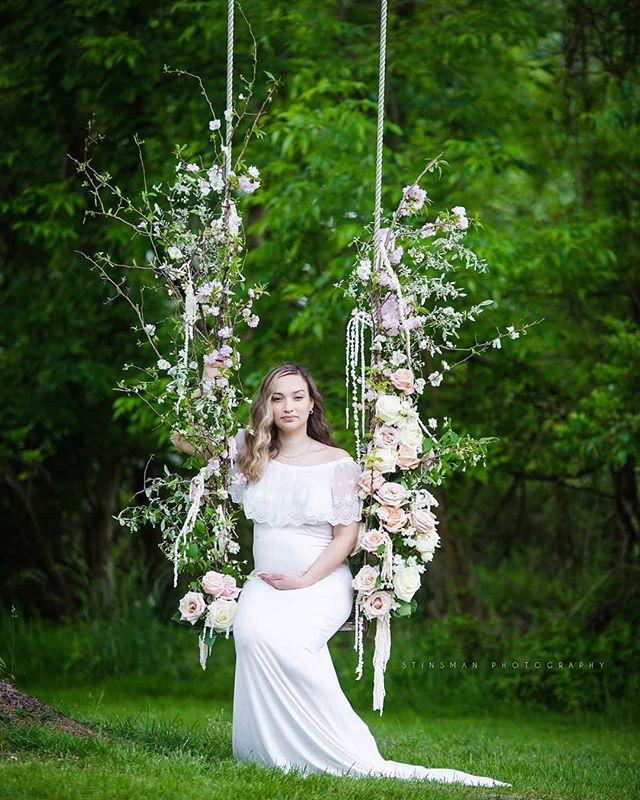 Yesterday was absolutely AhMazing! Literally, the best team! We worked along side a lot of wonderful vendors to pull this styled shoot together but a big shout out to Froggy's Garden Flowers for the most beautiful swing I have ever seen! #styledshoot #njmaternityphotographer #newbornphotography #maternityphotography #floralswing #styledmaternityshoot @njmom @thebump . . . . Vendors:  Concept | @Courtney Simpson Photography LLC Assist | Stinsman Photography LLC Venue | Ash Mill Farm Bed and Breakfast Host | @Open Aire Affairs Florist | @froggysgardenflowers Rentals | Rustic Charm Vintage Rentals HMU | @daniellesbeautystudio Bridal Salon | The Bridal Manor Shoes | Houseofellieotlaceboots Stationery | @santinamendoladesign Floral wall | Nicol Floral Design Chocolates | @myfavoritesweetsfavors Cake | Golden Sun Artistry Handkerchiefs | @the_handkerchief_shop Videography | @schoenfilms Models |  Cinthya Jimenez Chaverri Dress | @chicaboo_