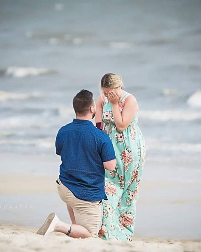Congratulations to @stephiestro and @gfenton8 on your proposal!! We are so happy we could capture another milestone for you! The perfect surprise and the weather held off!  #capemayproposal #njmom #marryme #capemay #congratulations #stinsmanphoto #stinsmanphotography #njweddingphotographer #proposal