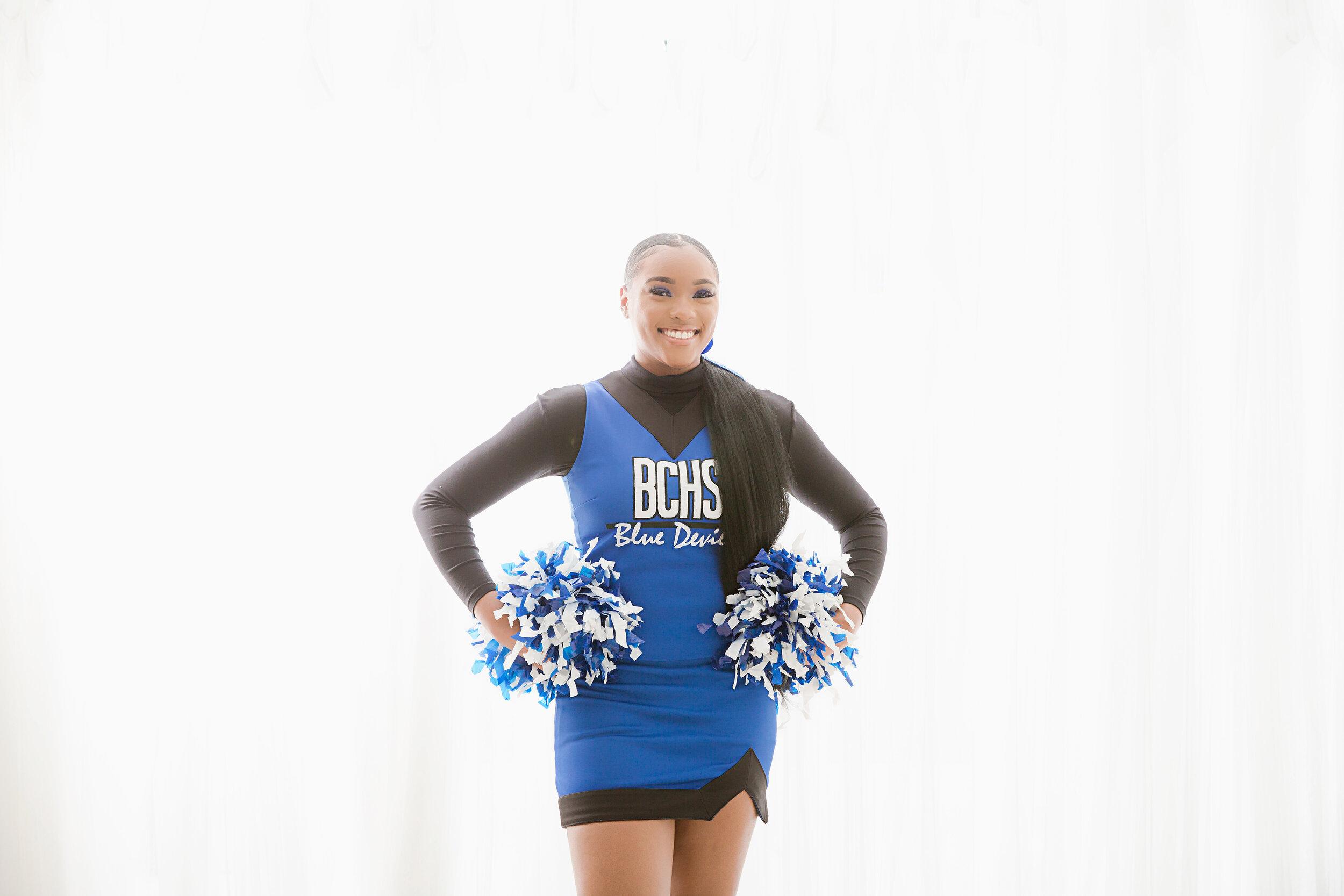 blue devils cheerleading uniform