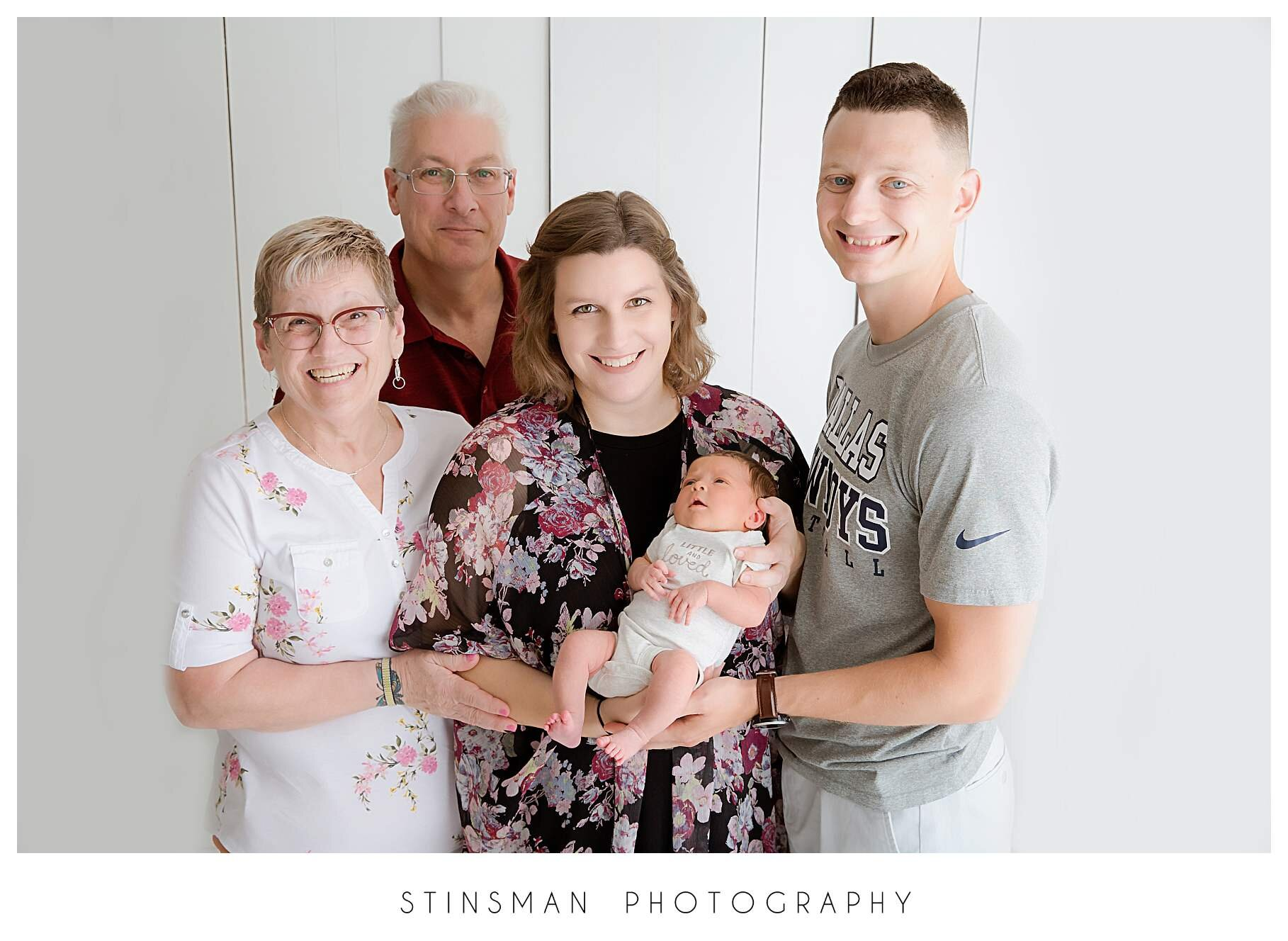 grandparents family photo