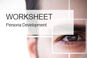Manage the persona process with this simple worksheet, the perfect companion to our  Persona Profile Development Tool .