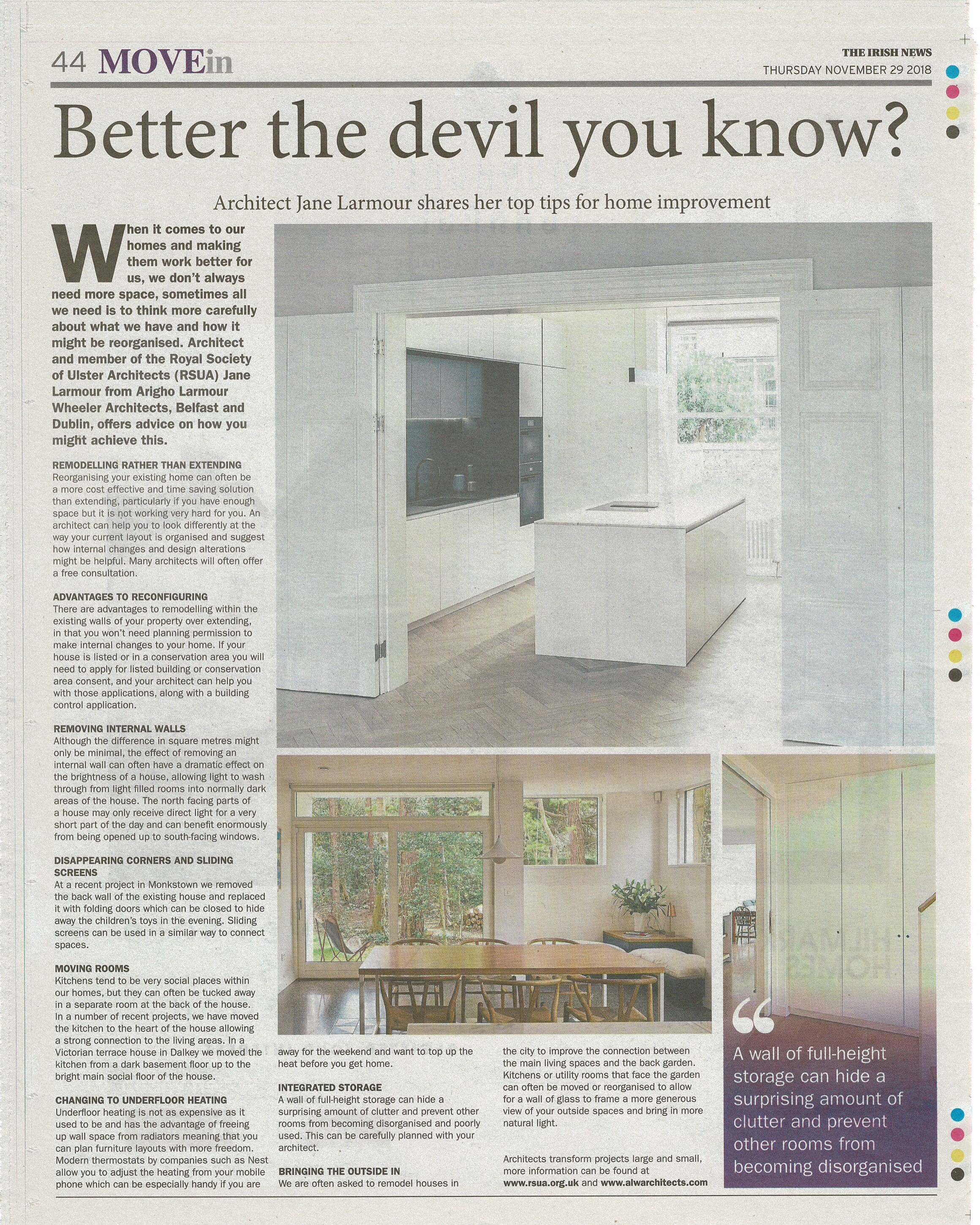 Alwarchitects Irish News