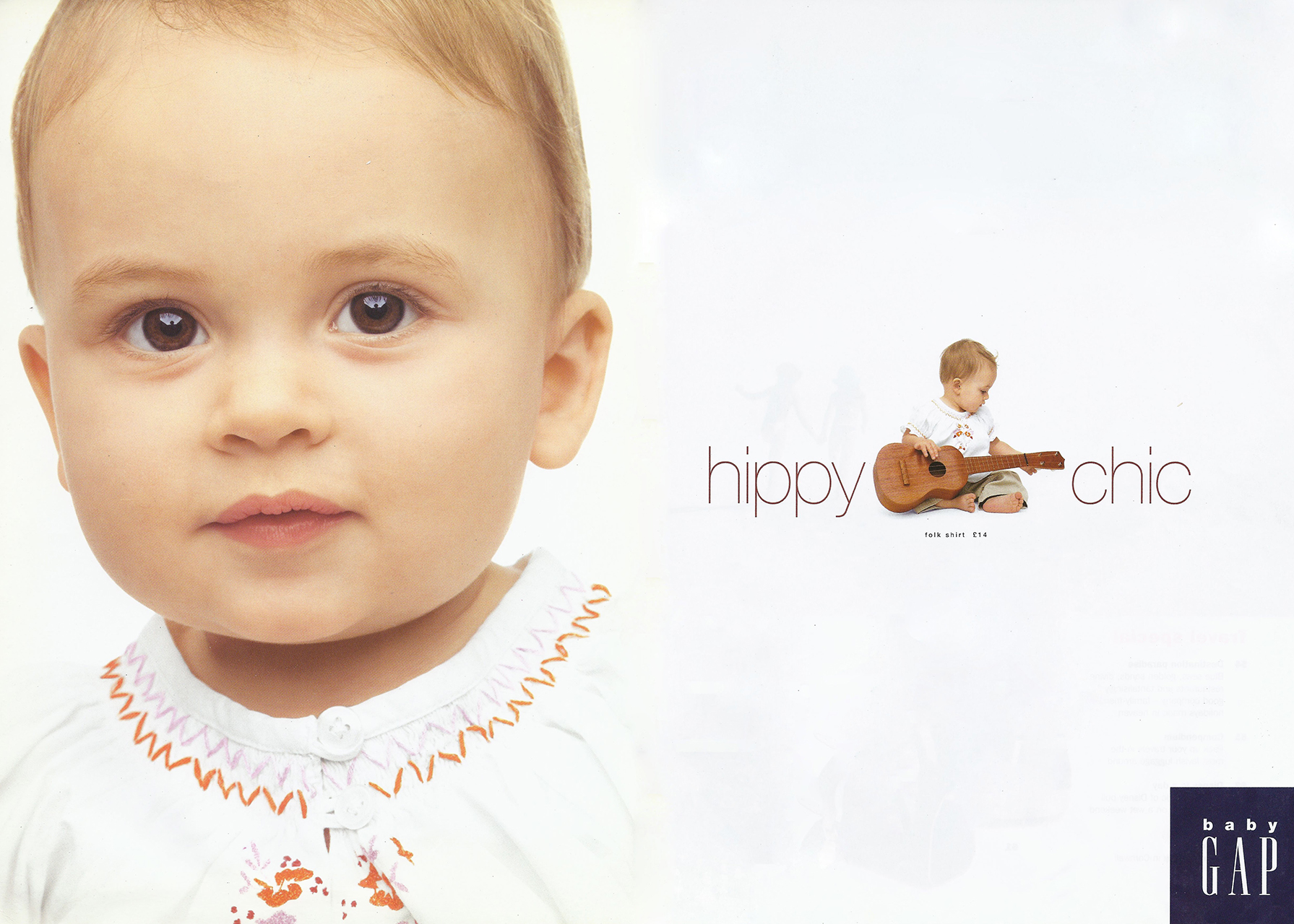 Baby Gap Flint and Kent Alex Bates Design Consulting childrenswear design image