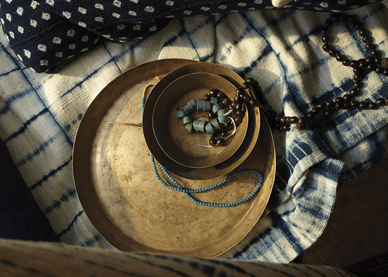 Dara Artisans Flint and Kent Alex Bates Brand Development Artisan Sourcing gentl and hyers indigo textiles image