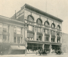 Flint & Kent at 562 Main Street Buffalo NY c 1890s