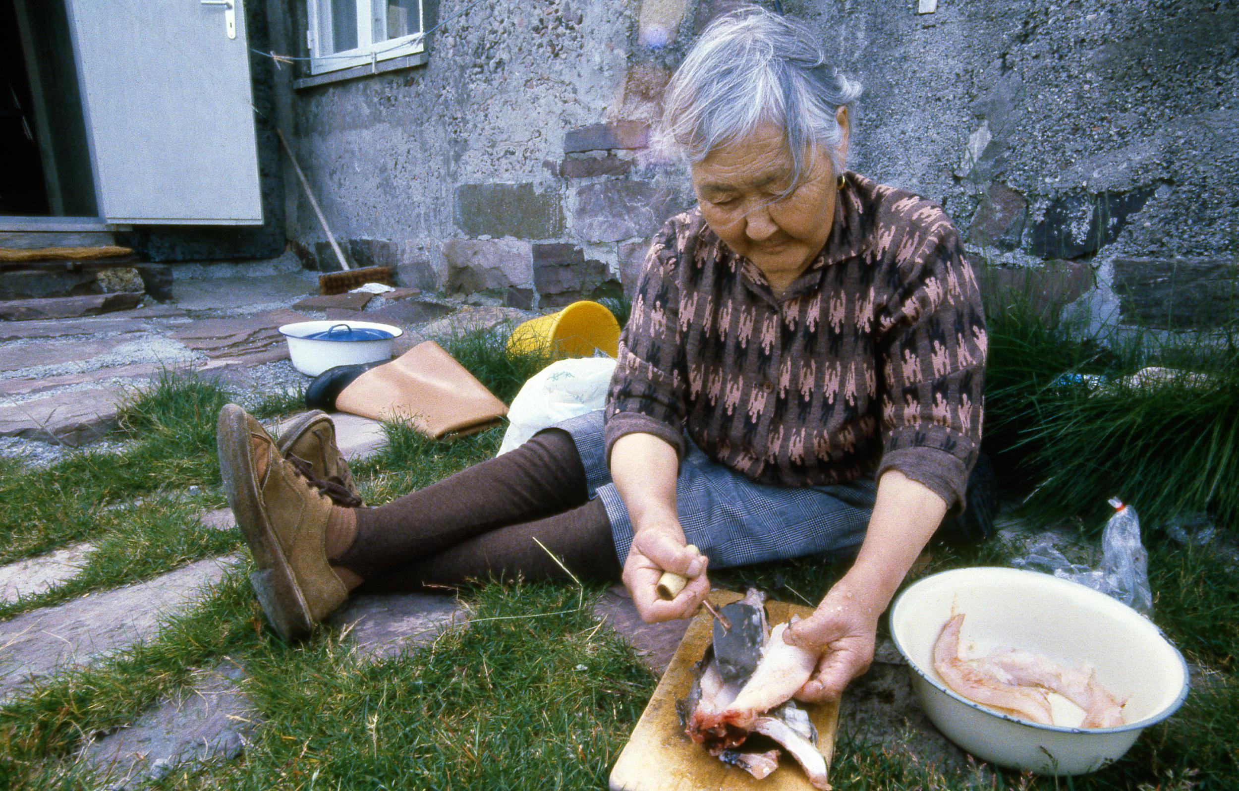1971: Santho i Amagssalik, Grønland