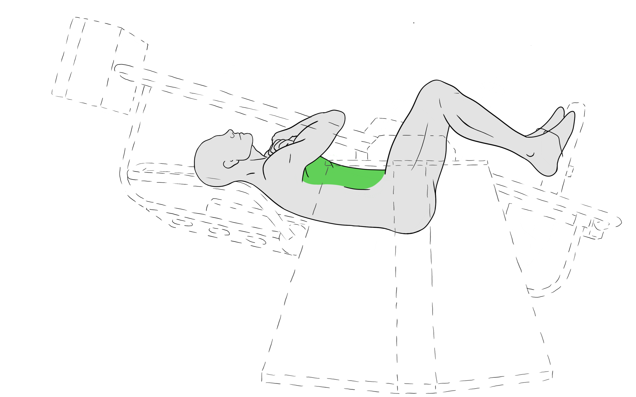 From your anterior to your internal abdominals, the AllCore360º engages your muscles in a 3D plane to grow the muscles that support every movement you make.