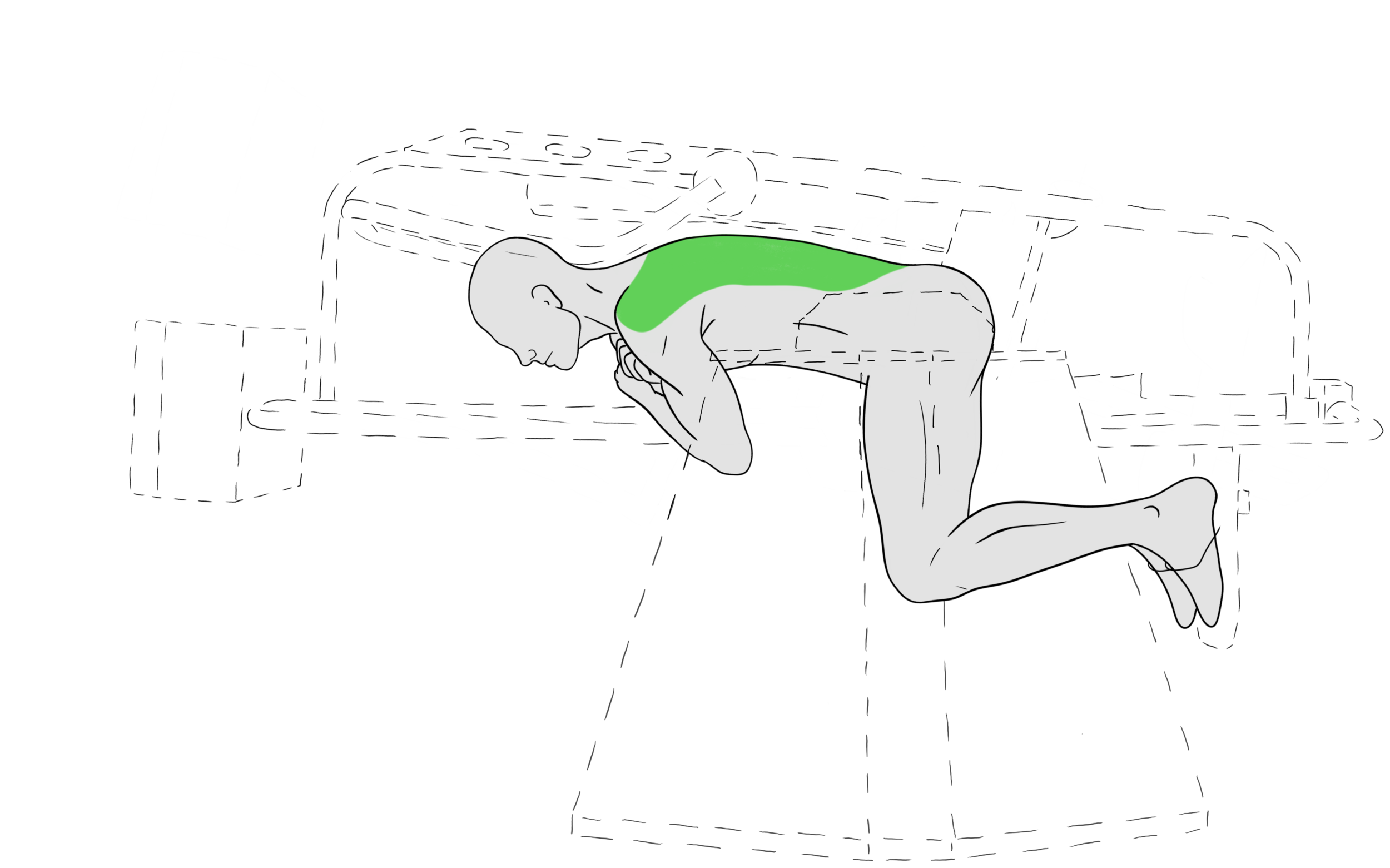 Work out the muscles that support your spine for confident posture that untrains your body to slouch and hunch forward.