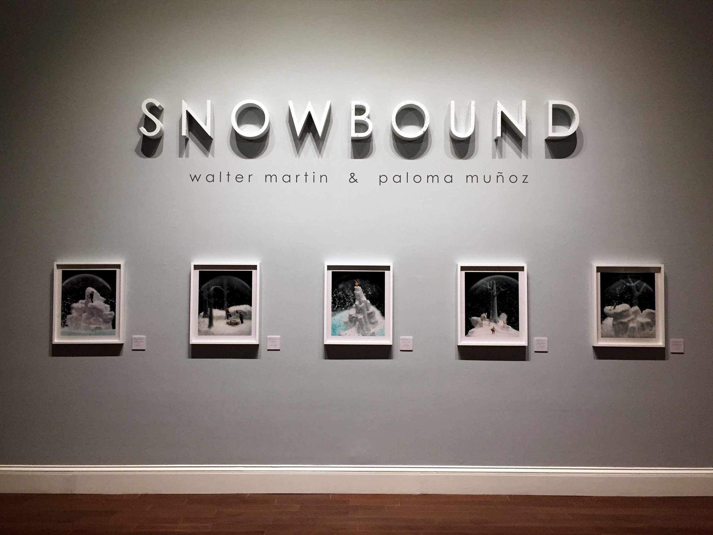 Snowbound by Walter Martin & Paloma Muñoz Cheekwood Museum of Art, Nashville, Tennessee.