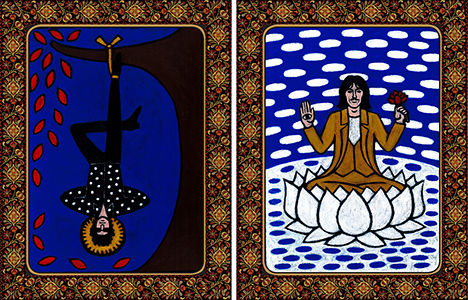 The Hanged Man The Heirophant
