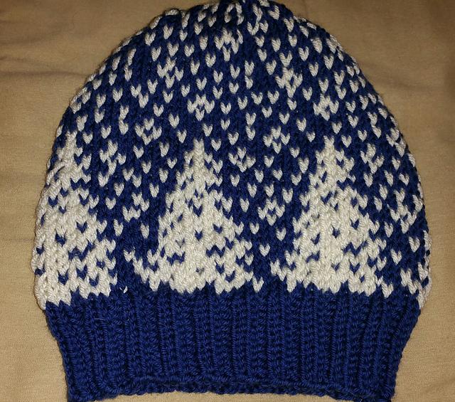 Kristi's Snowfall Hat