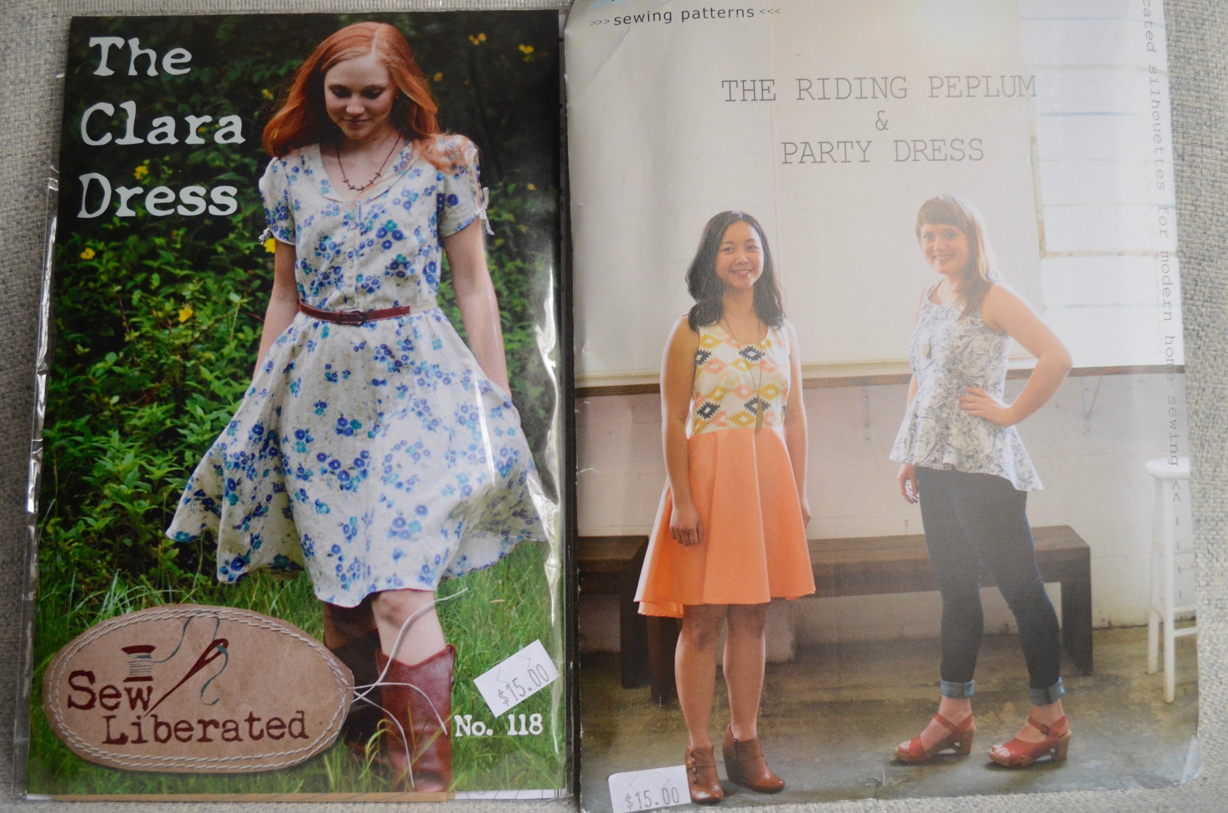 Clara dress & April Rhodes patterns
