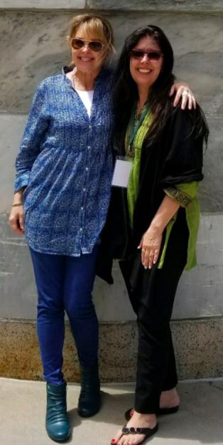 Karyn Chabot (left) & Kim Valeri (right)