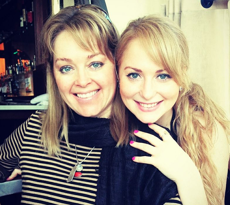 Karyn and her daughter Jaeda